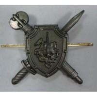 Эмблема петличная Военная полиция без венка защита метал