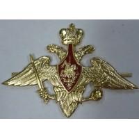 Орел ВС на тулью фуражки для сухопутных войск