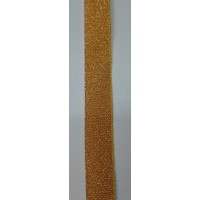 Галун золотистого цвета 1 м ширина 13 мм