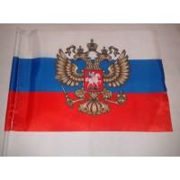 Флаг РФ с орлом