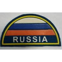 Шеврон триколор ВДВ Russia простой