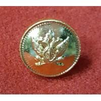 Пуговица 14 мм металл золотая с эмблемой ФССП