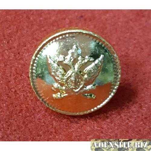 Пуговица малая металл золотая с эмблемой
