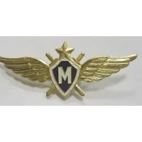 Знак Классности ВВС Мастер синяя эмаль