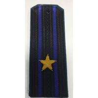 Погоны ФСБ  вышитыми золотом звездами майора