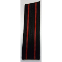 Погоны ВМФ старшего офицерского состава с красными просветами со скосом
