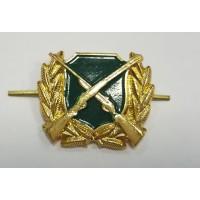 Эмблема Охотнадзора золото металл