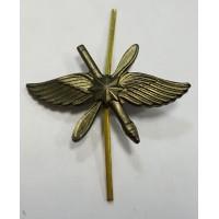 Эмблема петличная ВКС со звездой защита металл