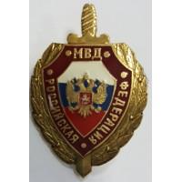 Знак - щит МВД РФ