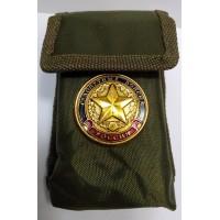 Набор столовых приборов  в чехле с символикой сухопутные войска