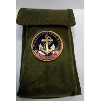 Набор столовых приборов  в чехле с символикой ВМФ якорь