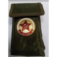Набор столовых приборов  в чехле с символикой Армия Авиация Флот