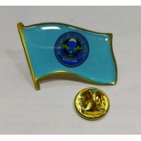 Знак ВДВ на голубом фоне на цанге