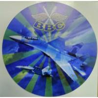 Наклейка ВВС РФ самолет