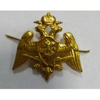 Эмблема петличная Росгварии золото металл
