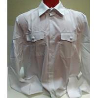Рубашка белого цвета длинный рукав р.36-44