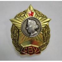 Знак выпускника Суворовского Училища