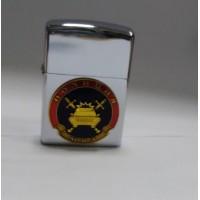 Зажигалка бензиновая с сувенирным жетоном Полиция ГИБДД