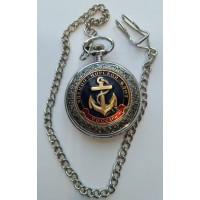 Часы с сувенирным жетоном ВМФ