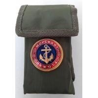 Набор столовых приборов  в чехле с символикой Морская пехота