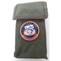 Набор столовых приборов  в чехле с символикой Спецназ ВМФ