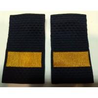 Фальшпогоны Полиция старшего сержанта вышитые нитью золотого цвета