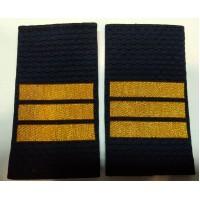 Фальшпогоны Полиция сержанта вышитые нитью золотого цвета