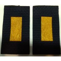 Фальшпогоны Полиция старшины вышитые нитью золотого цвета