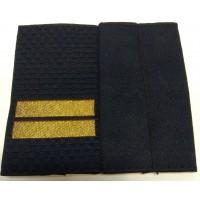 Фальшпогоны Полиция младшего сержанта вышитые нитью золотого цвета