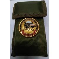 Набор столовых приборов  в чехле с символикой Спецназ ВДВ разведка