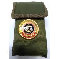 Набор столовых приборов  в чехле с символикой Морская пехота тип 2