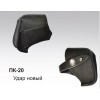ПК-20 Кобура поясная под Удар новый кожаная объемная
