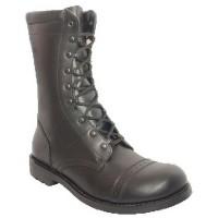 Ботинки Гвардия Р001 гладкая кожа