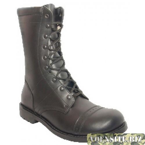 Ботинки мужские ЭлитСпецОбувь с высокими берцами Гвардия Р001 гладкая кожа