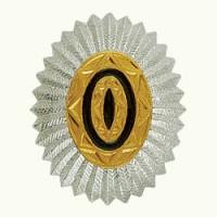 Овал казачий металл офицерский