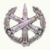Эмблема петличная РВиА с венком защита металл