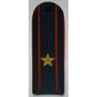 Погоны МЧС с вышитыми золотом звездами майор
