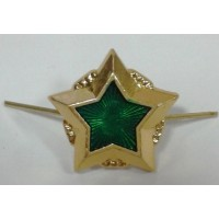 Звезда большая ФССП золото металл
