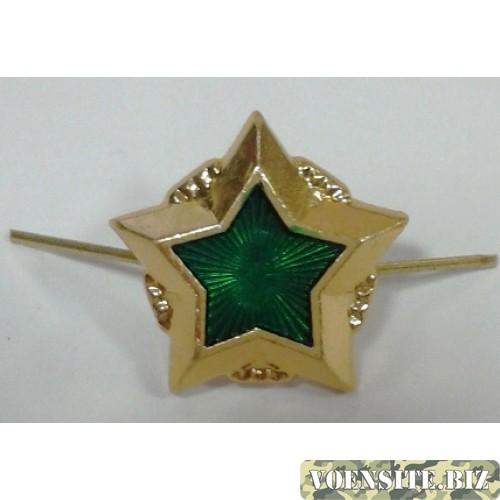 Звезда большая Федеральная служба судебных приставов золото металл