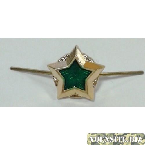 Звезда малая Федеральная служба судебных приставов золото металл