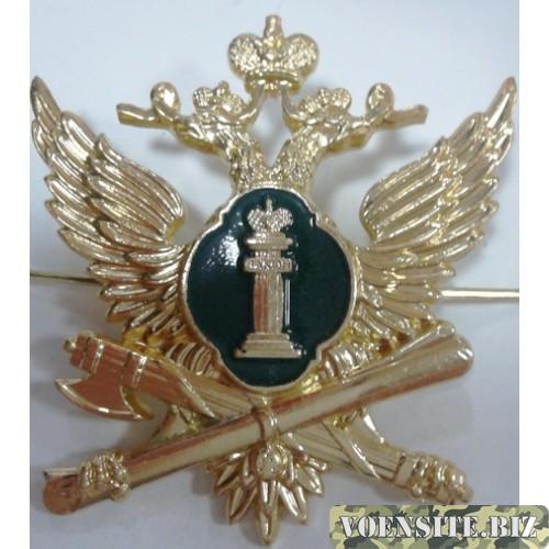 Орел Федеральной службы судебных приставов золото металл