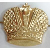 Эмблема петличная Казачья золото металл