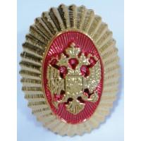 Овал с гербом золото полиамид