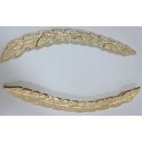 Орнамент на фуражку золото металл
