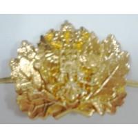 Эмблема петличная Лесничего золото металл