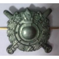 Эмблема петличная Внутренние войска МВД  защита металл