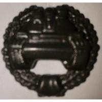 Эмблема петличная Танковые войска с венком защита полиамид
