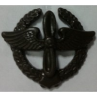 Эмблема петличная ВВС с венком защита полиамид