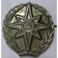 Эмблема петличная МЧС защита металл