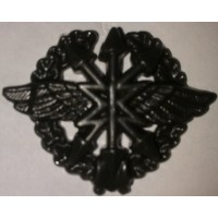 Эмблема петличная Связь с венком защита полиамид